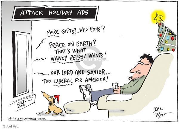 Cartoonist Joel Pett  Joel Pett's Editorial Cartoons 2010-12-07 advertising