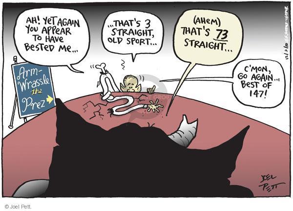 Joel Pett  Joel Pett's Editorial Cartoons 2010-12-09 partisanship