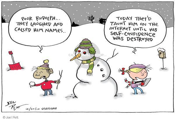 Cartoonist Joel Pett  Joel Pett's Editorial Cartoons 2010-12-20 youth