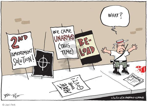 Joel Pett  Joel Pett's Editorial Cartoons 2011-01-11 anti-government