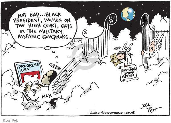 Cartoonist Joel Pett  Joel Pett's Editorial Cartoons 2011-01-16 state