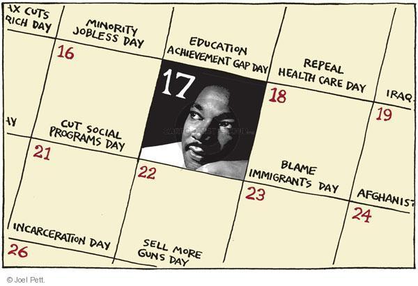 Joel Pett  Joel Pett's Editorial Cartoons 2011-01-17 health care reform