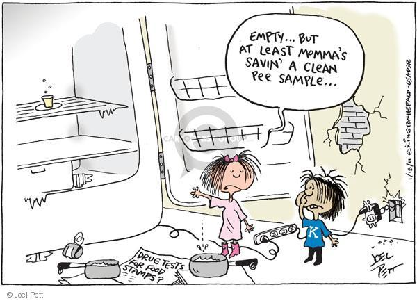 Joel Pett  Joel Pett's Editorial Cartoons 2011-01-18 drug