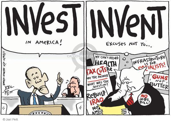 Cartoonist Joel Pett  Joel Pett's Editorial Cartoons 2011-01-26 socialist