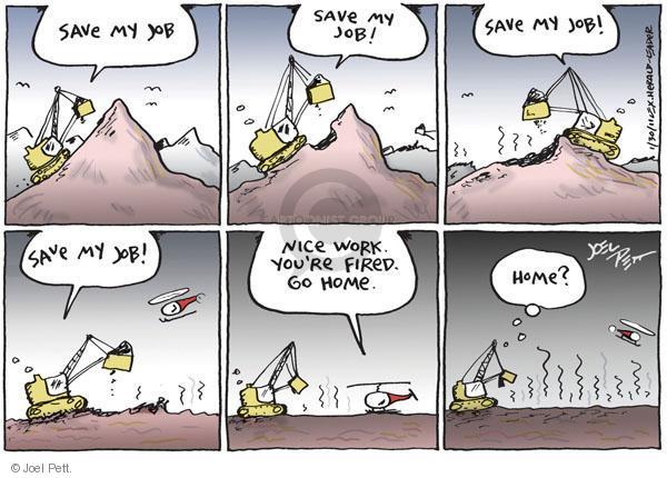 Joel Pett  Joel Pett's Editorial Cartoons 2011-01-30 environment