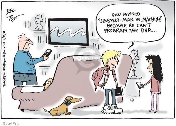 Joel Pett  Joel Pett's Editorial Cartoons 2011-02-16 television cartoon