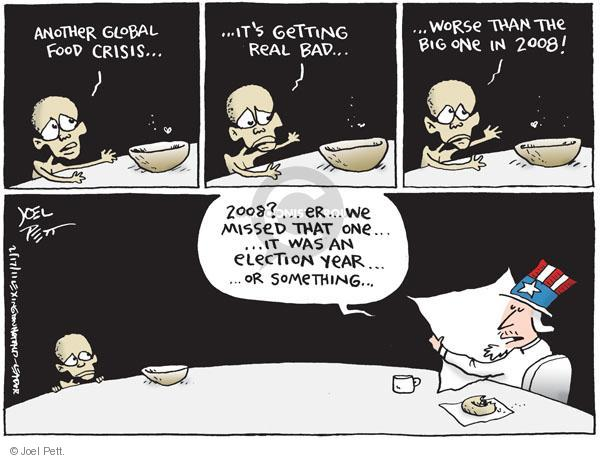 Joel Pett  Joel Pett's Editorial Cartoons 2011-02-17 distraction