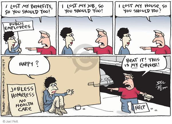 Joel Pett  Joel Pett's Editorial Cartoons 2011-02-20 compensation