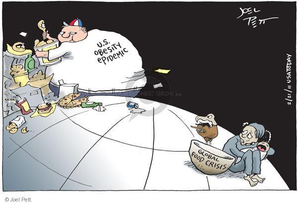 Joel Pett  Joel Pett's Editorial Cartoons 2011-02-21 supply
