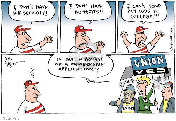 Joel Pett  Joel Pett's Editorial Cartoons 2011-02-28 compensation