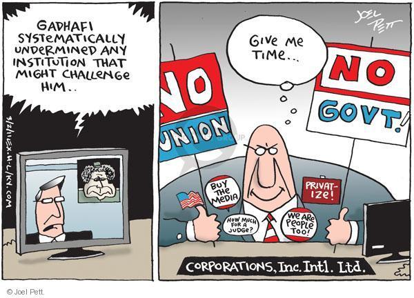 Joel Pett  Joel Pett's Editorial Cartoons 2011-03-02 Libya