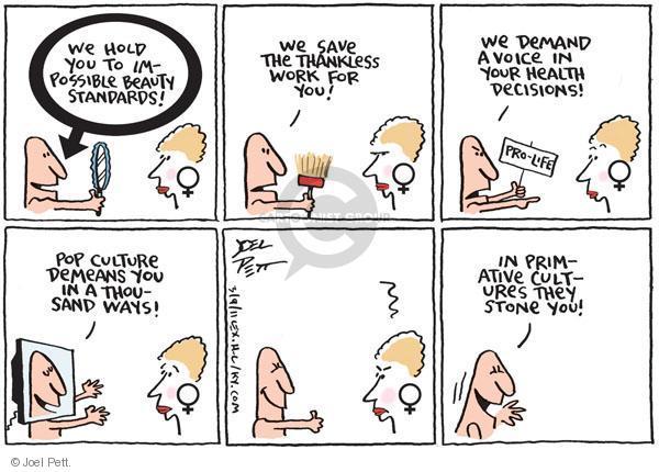 Cartoonist Joel Pett  Joel Pett's Editorial Cartoons 2011-03-09 decision