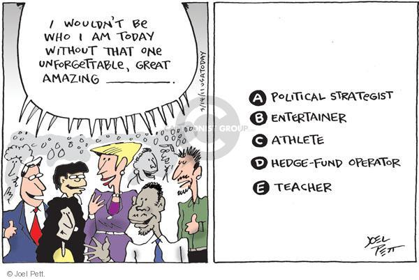Joel Pett  Joel Pett's Editorial Cartoons 2011-03-14 education