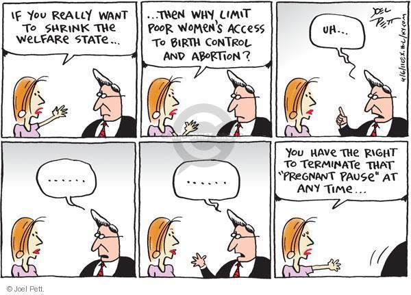 Cartoonist Joel Pett  Joel Pett's Editorial Cartoons 2011-04-06 birth
