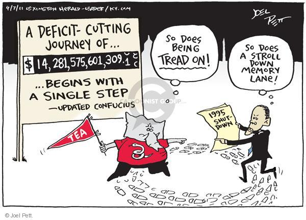 Joel Pett  Joel Pett's Editorial Cartoons 2011-04-07 change