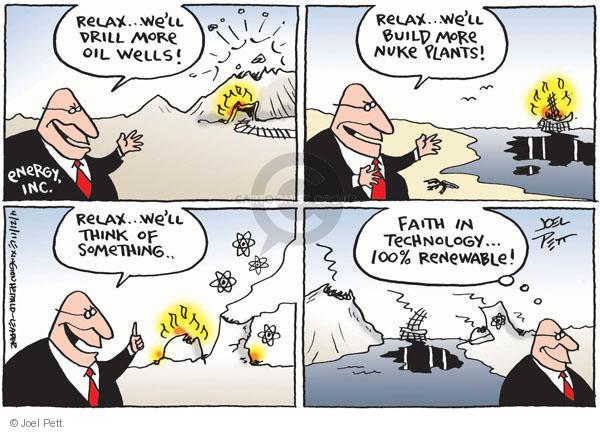 Joel Pett  Joel Pett's Editorial Cartoons 2011-04-21 leak