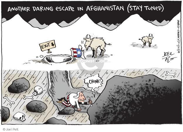 Cartoonist Joel Pett  Joel Pett's Editorial Cartoons 2011-04-27 Afghan
