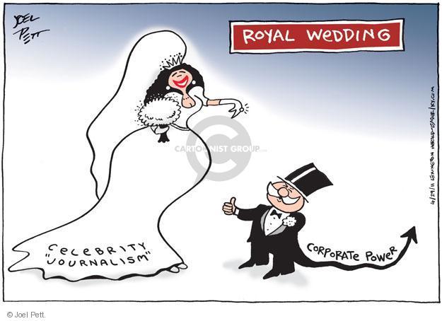 Joel Pett  Joel Pett's Editorial Cartoons 2011-04-29 political media