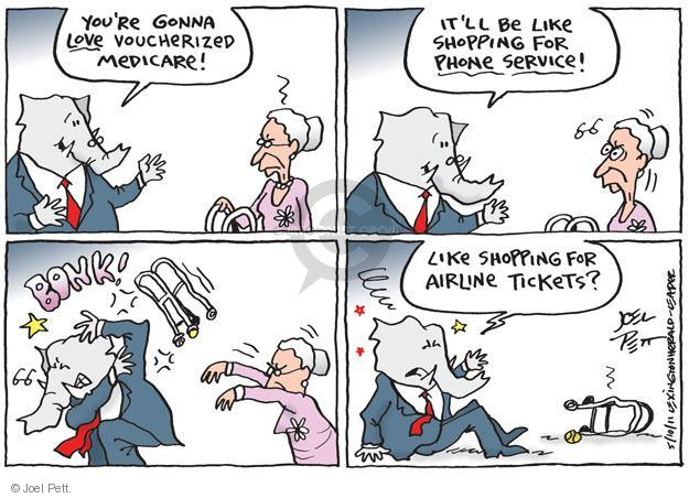 Cartoonist Joel Pett  Joel Pett's Editorial Cartoons 2011-05-10 Government Spending