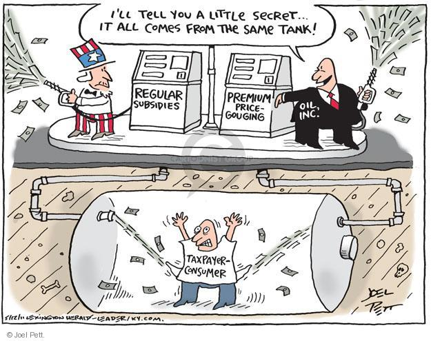 Cartoonist Joel Pett  Joel Pett's Editorial Cartoons 2011-05-12 big government