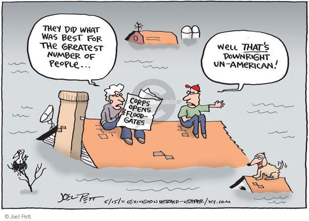 Joel Pett  Joel Pett's Editorial Cartoons 2011-05-15 number