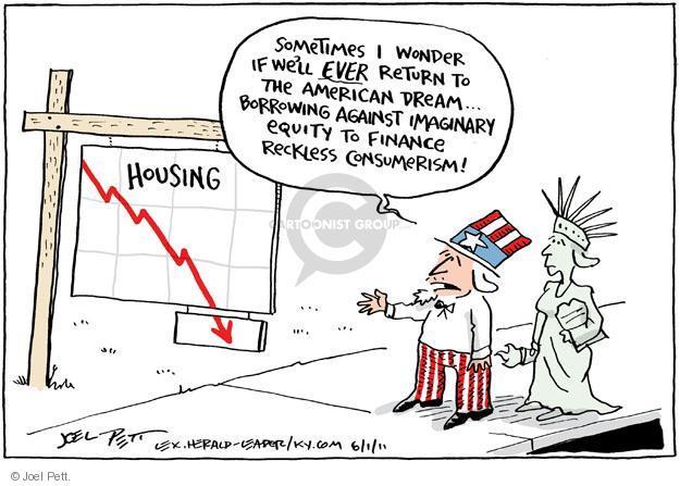Joel Pett  Joel Pett's Editorial Cartoons 2011-06-01 economy