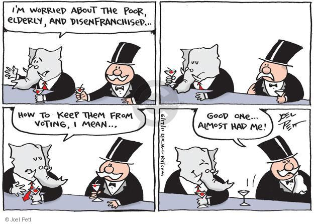 Cartoonist Joel Pett  Joel Pett's Editorial Cartoons 2011-06-17 poverty