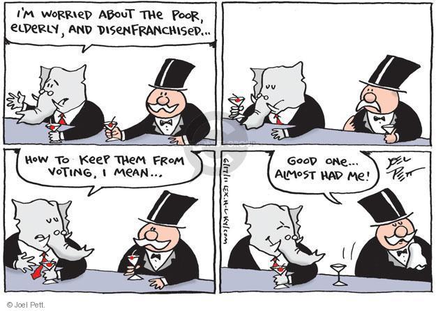 Cartoonist Joel Pett  Joel Pett's Editorial Cartoons 2011-06-17 rich