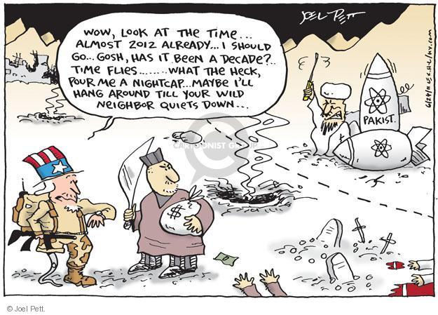 Cartoonist Joel Pett  Joel Pett's Editorial Cartoons 2011-06-24 wow