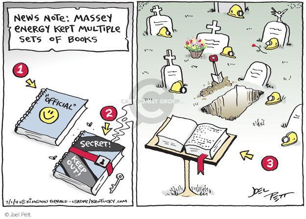Joel Pett  Joel Pett's Editorial Cartoons 2011-07-01 secret