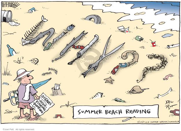 Joel Pett  Joel Pett's Editorial Cartoons 2011-07-17 fish