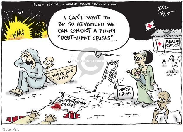 Joel Pett  Joel Pett's Editorial Cartoons 2011-07-28 federal budget