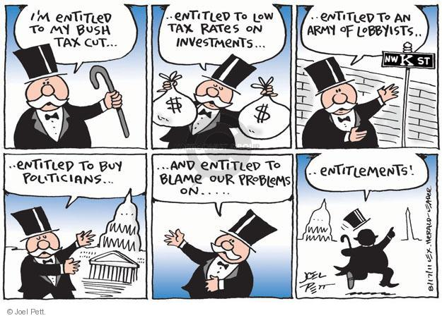 Cartoonist Joel Pett  Joel Pett's Editorial Cartoons 2011-08-17 Government Spending