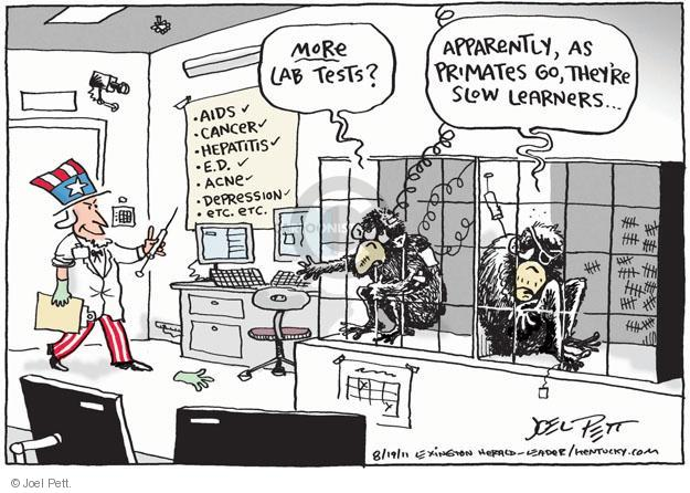 Joel Pett  Joel Pett's Editorial Cartoons 2011-08-19 cancer