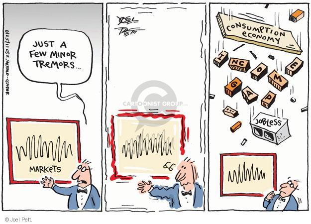 Joel Pett  Joel Pett's Editorial Cartoons 2011-08-25 stock market