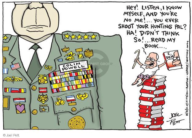 Cartoonist Joel Pett  Joel Pett's Editorial Cartoons 2011-08-31 Dick Cheney