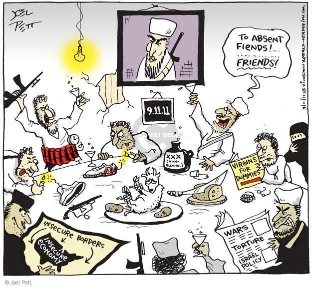 Cartoonist Joel Pett  Joel Pett's Editorial Cartoons 2011-09-11 September