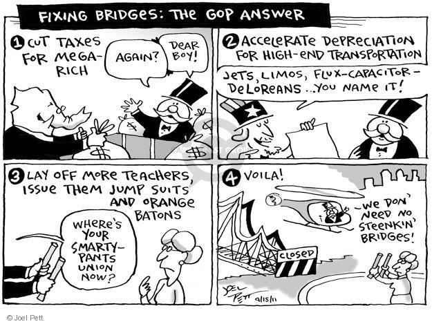 Joel Pett  Joel Pett's Editorial Cartoons 2011-09-15 answer