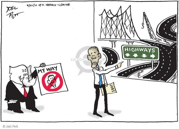 Joel Pett  Joel Pett's Editorial Cartoons 2011-09-21 infrastructure