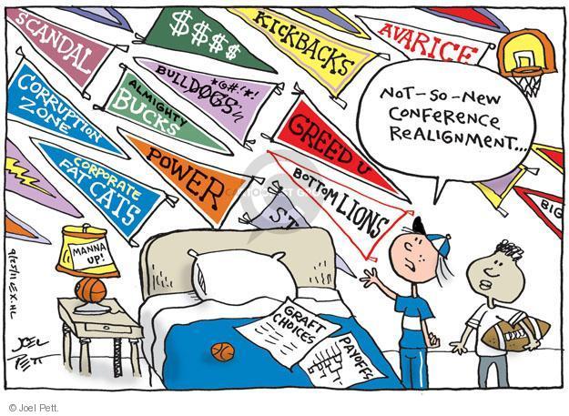 Cartoonist Joel Pett  Joel Pett's Editorial Cartoons 2011-09-25 political corruption