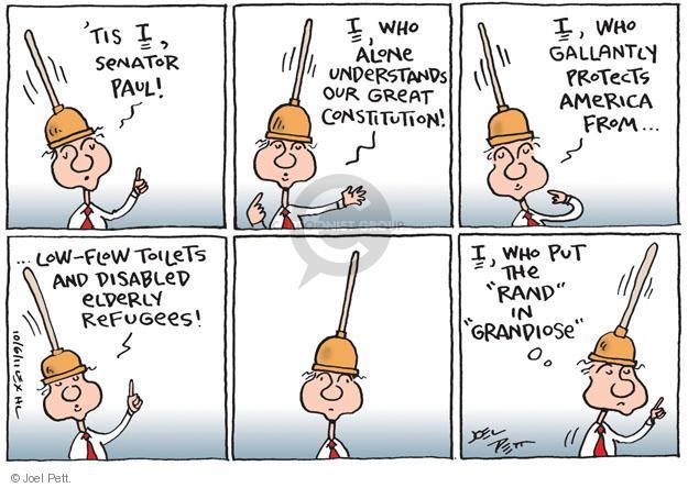 Joel Pett  Joel Pett's Editorial Cartoons 2011-10-06 'tis
