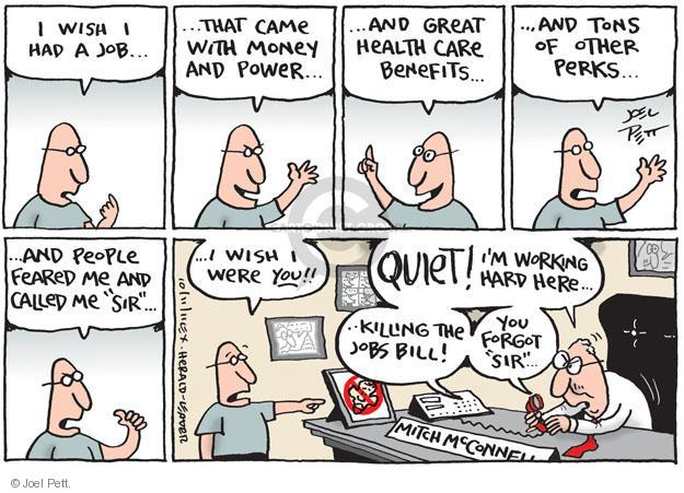 Cartoonist Joel Pett  Joel Pett's Editorial Cartoons 2011-10-11 authority