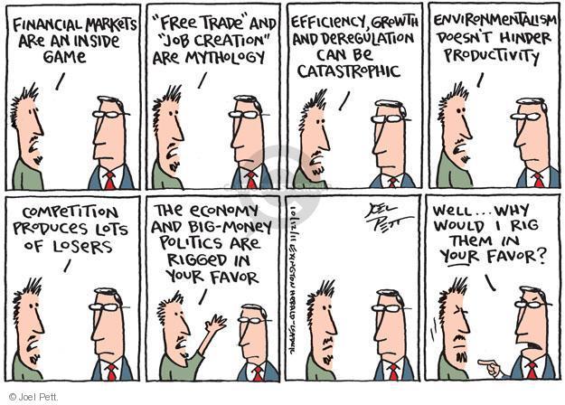 Cartoonist Joel Pett  Joel Pett's Editorial Cartoons 2011-10-12 greedy