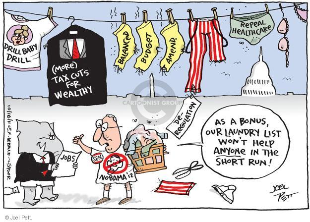 Joel Pett  Joel Pett's Editorial Cartoons 2011-10-16 federal budget