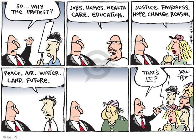 Joel Pett  Joel Pett's Editorial Cartoons 2011-10-20 change