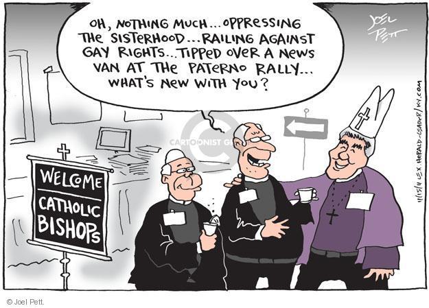 Joel Pett  Joel Pett's Editorial Cartoons 2011-11-15 political media