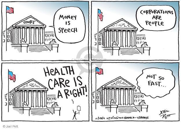 Joel Pett  Joel Pett's Editorial Cartoons 2011-11-18 justice system