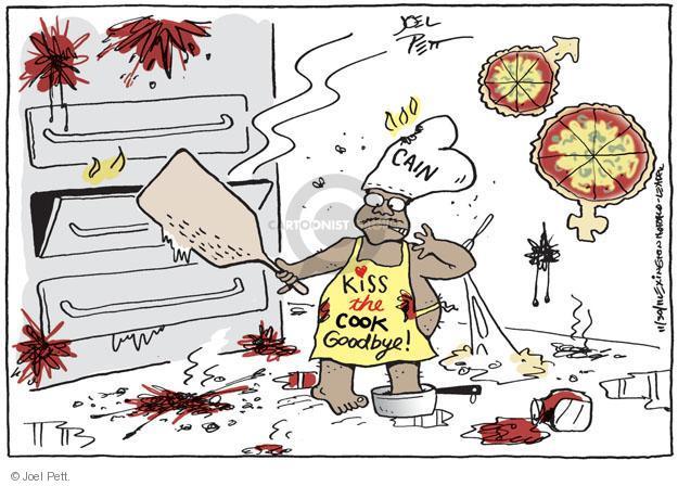 Joel Pett  Joel Pett's Editorial Cartoons 2011-11-30 kiss