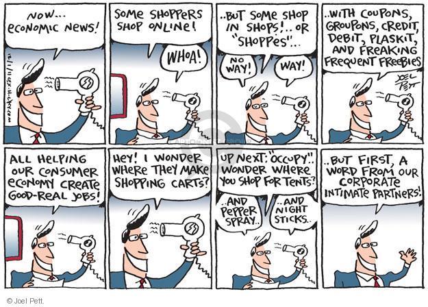 Joel Pett  Joel Pett's Editorial Cartoons 2011-12-01 shopper