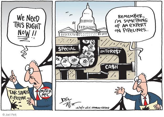 Joel Pett  Joel Pett's Editorial Cartoons 2011-12-04 environment